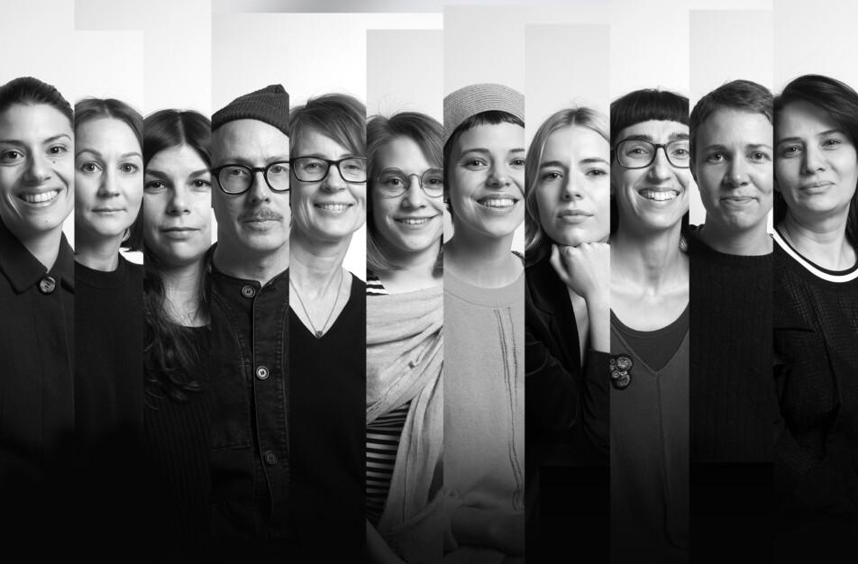 Handarbetets Vänner skola Designtorget Klässbols Linneväveri samarbete studenter