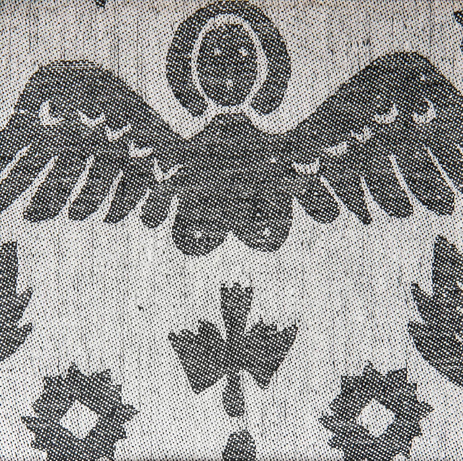 Himmel handduk hellinne Klässbols linneväveri Wanja Djanaieff svart