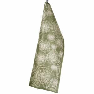 Timmervälta 50x70 cm grön sand linnehandduk klässbols formgivare Hanna Bredberg