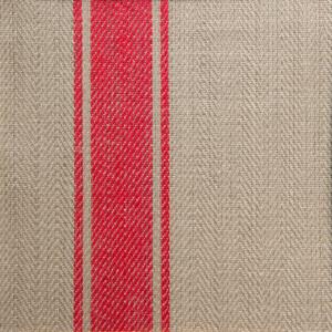 Allmoge handduk hellinne Klässbols linneväveri oblekt/röd|Color:oblektrod