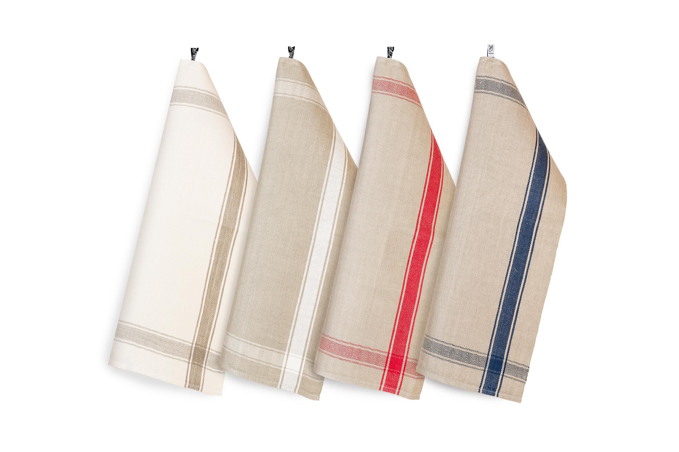 Allmoge handduk hellinne Klässbols linneväveri fyra upp