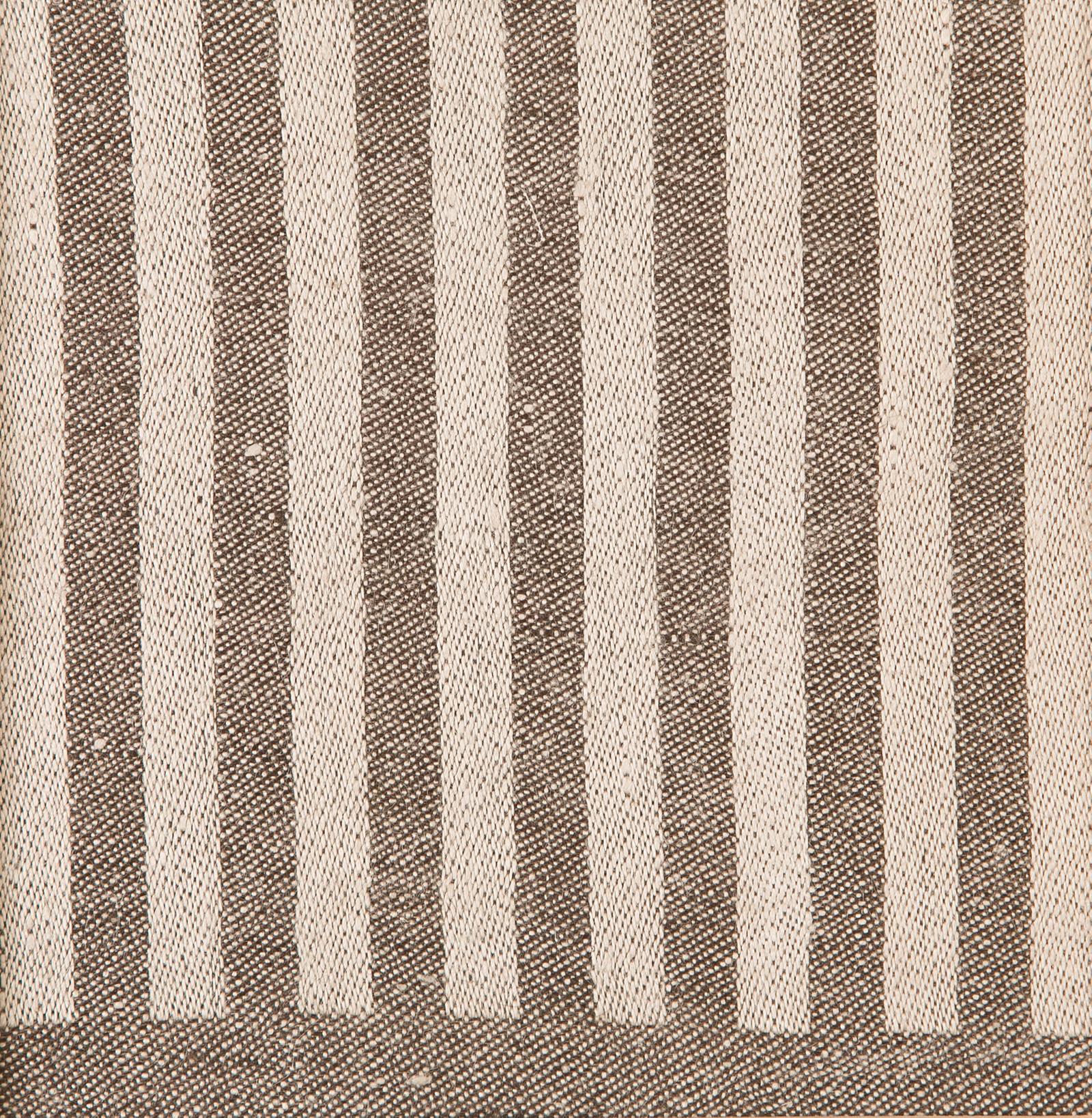 Anne bordslöpare färgprov design Hanne Vedel färg sandvarp chokladbrun