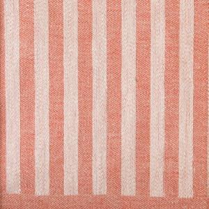 Anne bordslöpare färgprov design Hanne Vedel färg sandvarp tegelröd