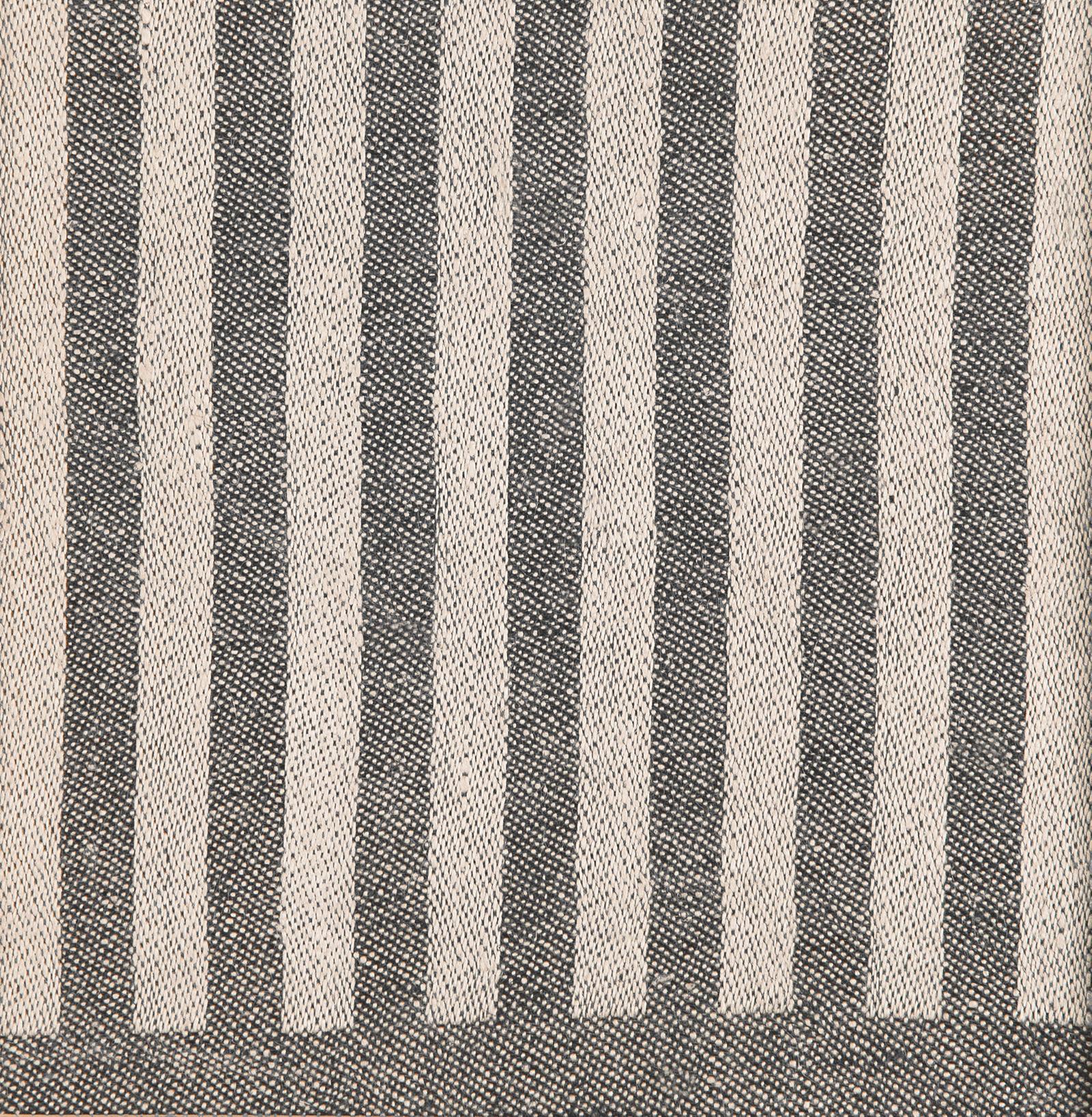 Anne bordslöpare färgprov design Hanne Vedel färg sandvarp svart