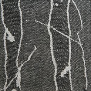 Björk handduk hellinne Klässbols Linneväveri Lena Hellström svart vit avig