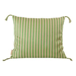 Bolster linne kudde Klässbols Linneväveri Lena Rahoult smalrand grön|Color:smalrand-gron