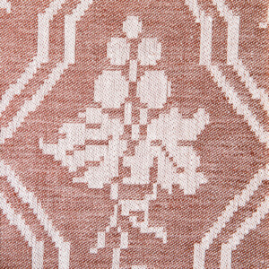 Druvklasen löpare hellinne Klässbols Linneväveri Hjalmar Johansson rostbrun|Color:rostbrun