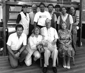 Familjen Johansson 1994 Klässbols Linneväveri