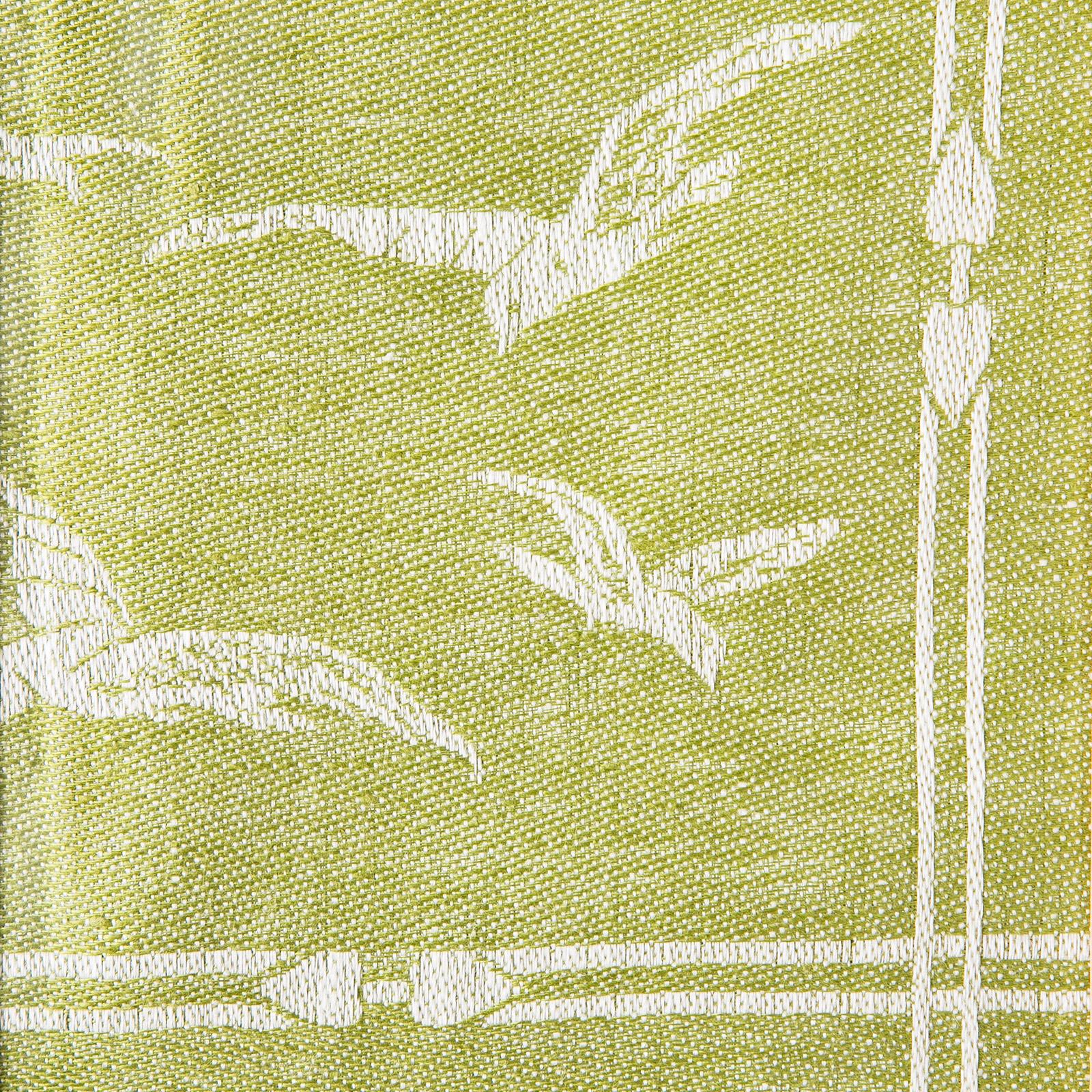 Fiskmåsen linblomsgrön färgprov