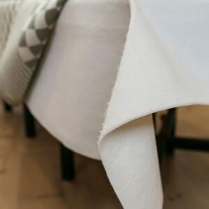 Filtduk att ha mellan bord och linneduk. vit Klässbols