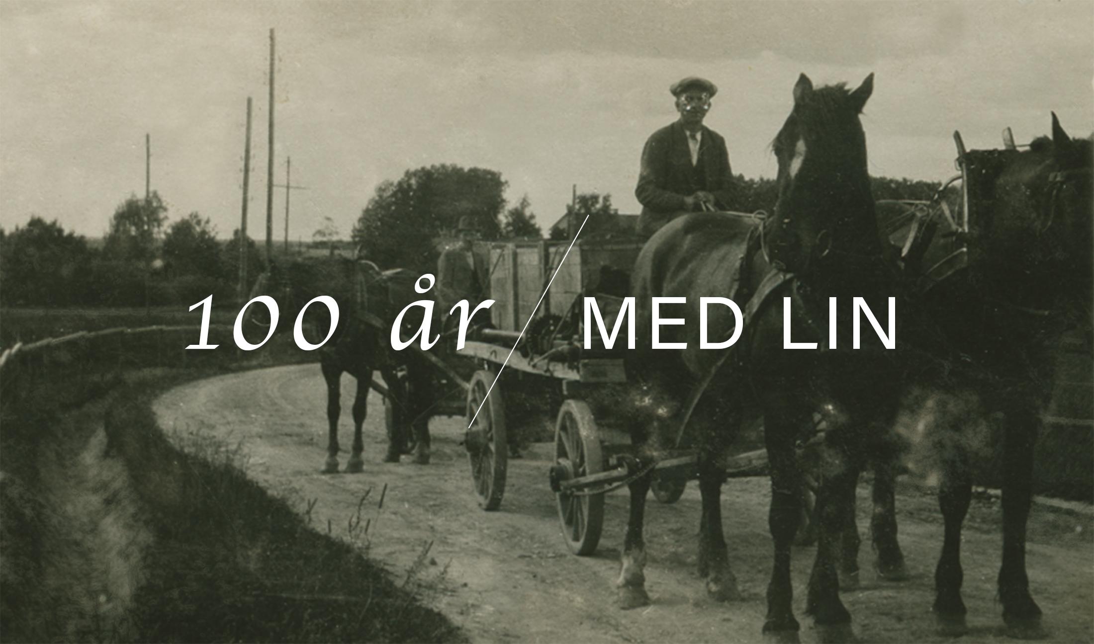 Första vävstolen kom med häst och vagn