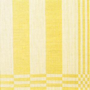 Gästabud hellinne Klässbols Llinneväveri Vitalis Johansson gul|Color:gul