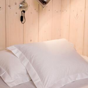 Gastaldi ara sängkläder Klässbols Linneväveri vit