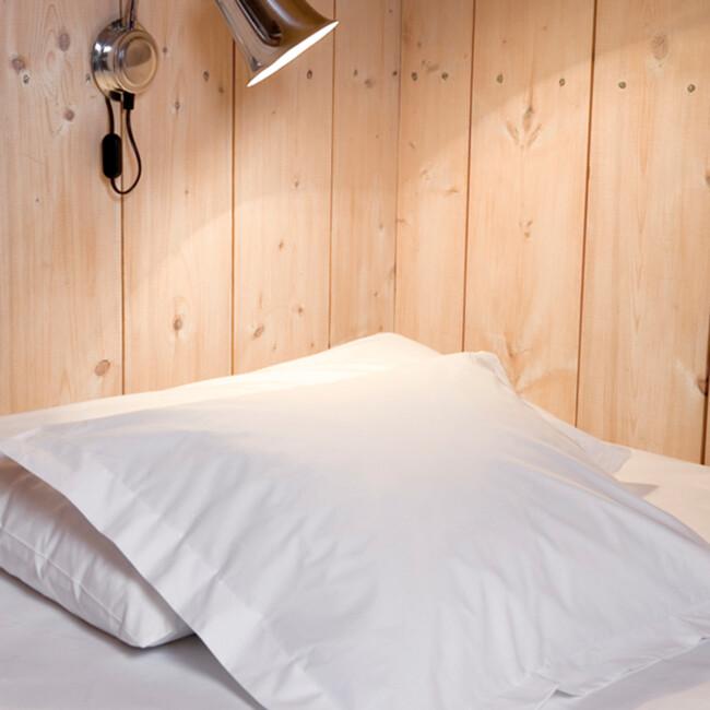 Gastaldi percale sängkläder Klässbols Linneväveri vit