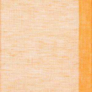 Gryning (skimmer) linnegardin av Eva Jemt Klässbols Linneväveri. Orange