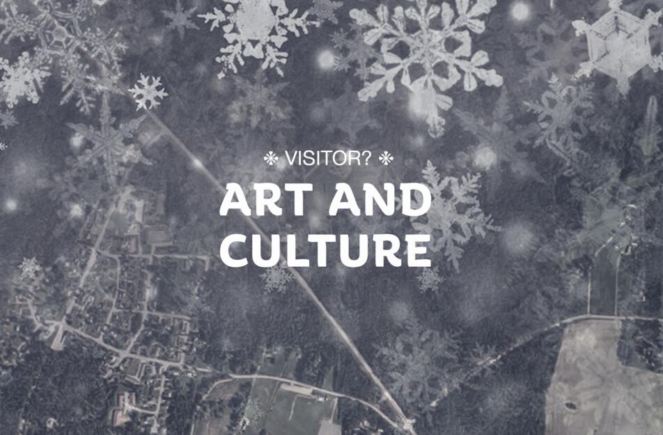 Besökare i området,konst och kultur