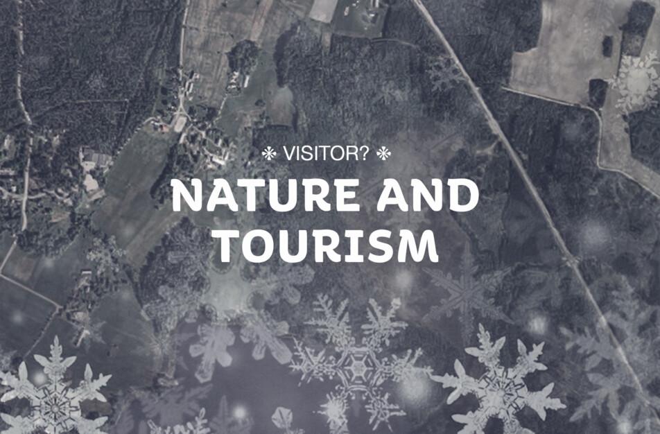 Besökare i området, Glaskogen, natur och turism