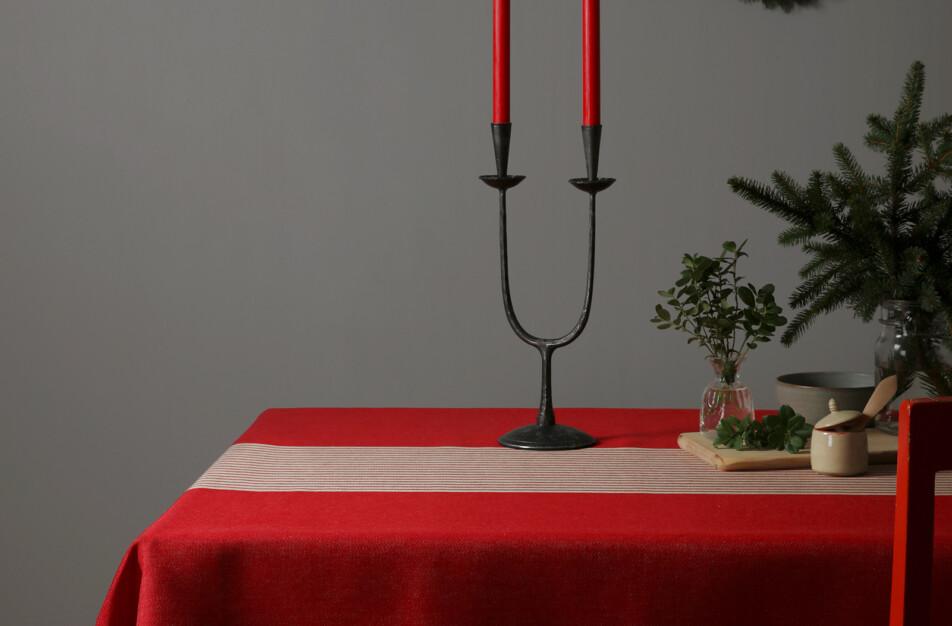 Klässbols klassiska jul-linneduk Gillet