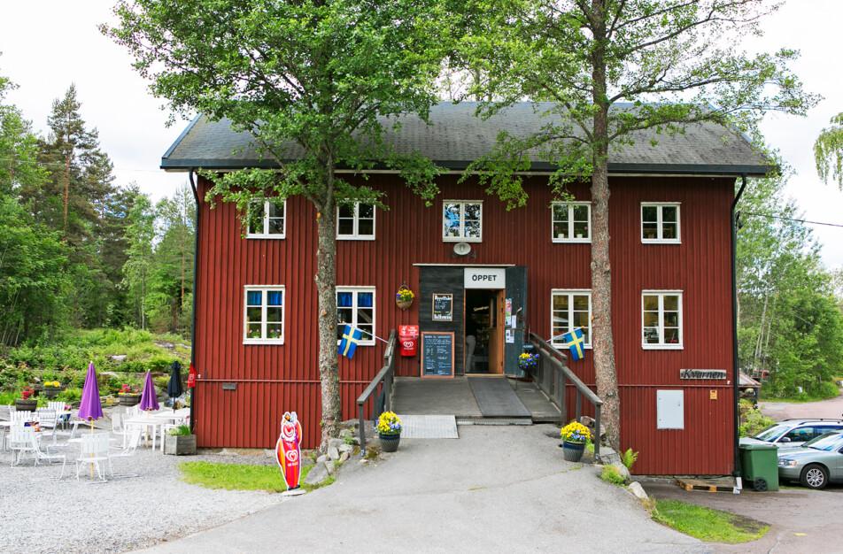 Klässbols Linneväveri Kaffekvarnen café och lunch