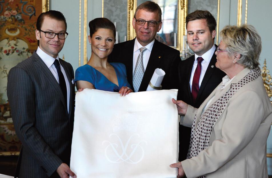 Bröllopsgåva till Kronprinsessan Victoria och Daniel Westlund