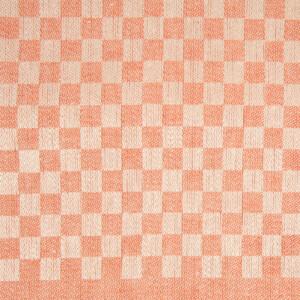 line bordslöpare färgprov design Hanne Vedel färg sandvarp tegelröd