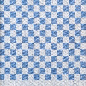 Mönster, handduken Line färg blå