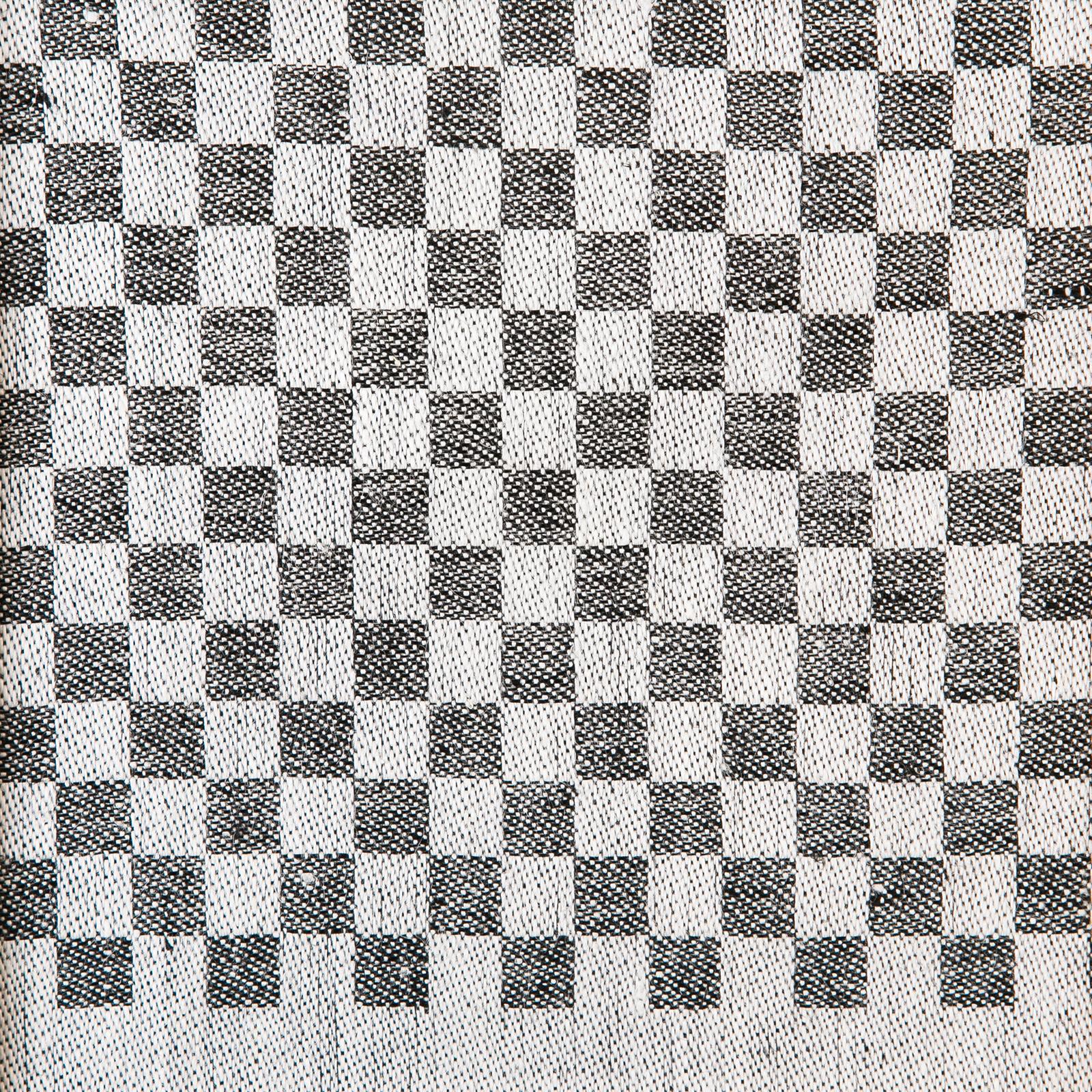 Mönster, handduken Line färg svart