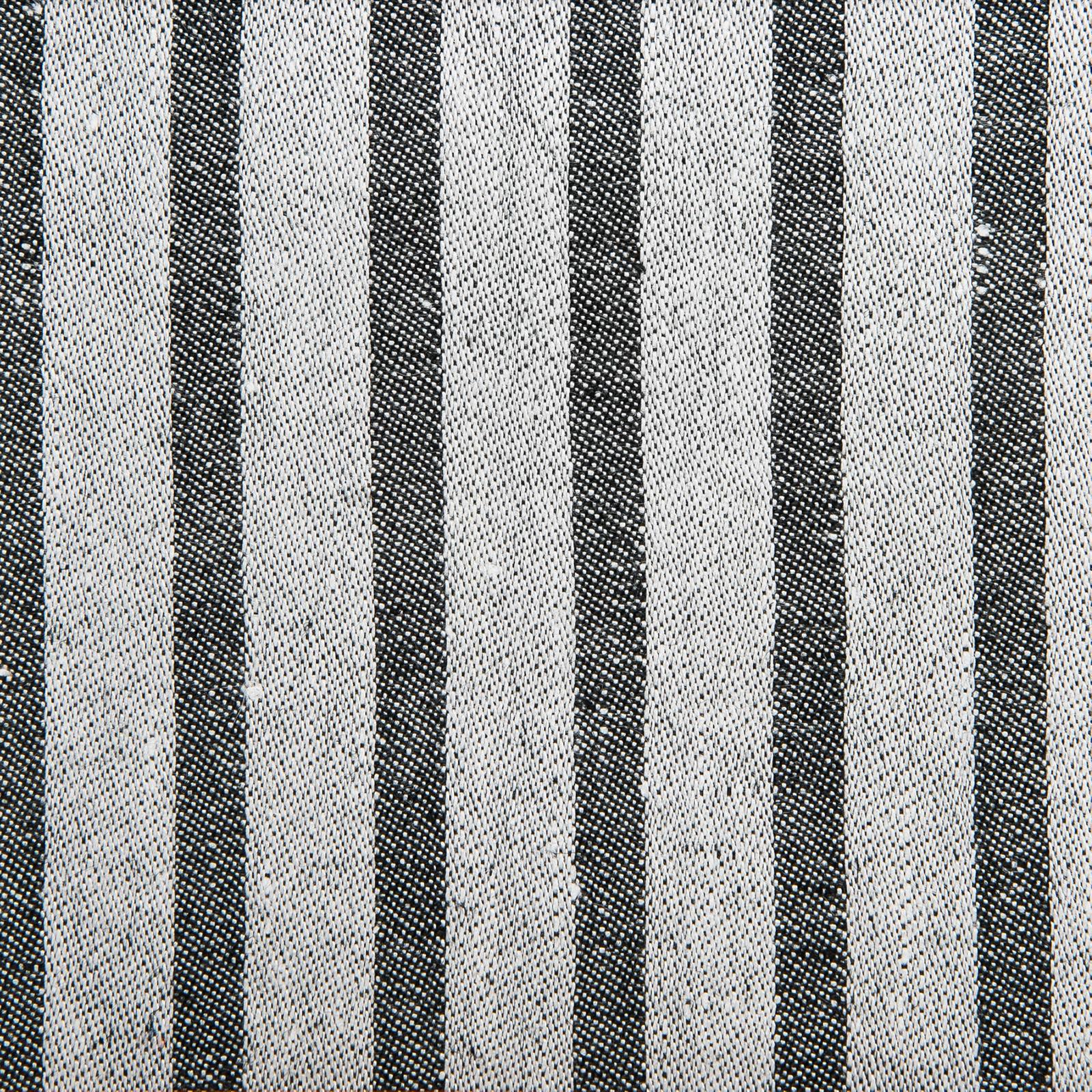 Linus linne handduk Klässbols Linneväveri Peter Condu svart