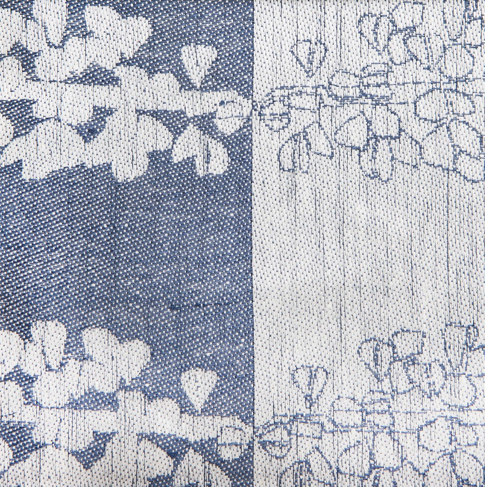 Lupin Sjumila hellinne handduk Klässbols Linneväveri Hanna Bredberg jeansblå|jeansbla