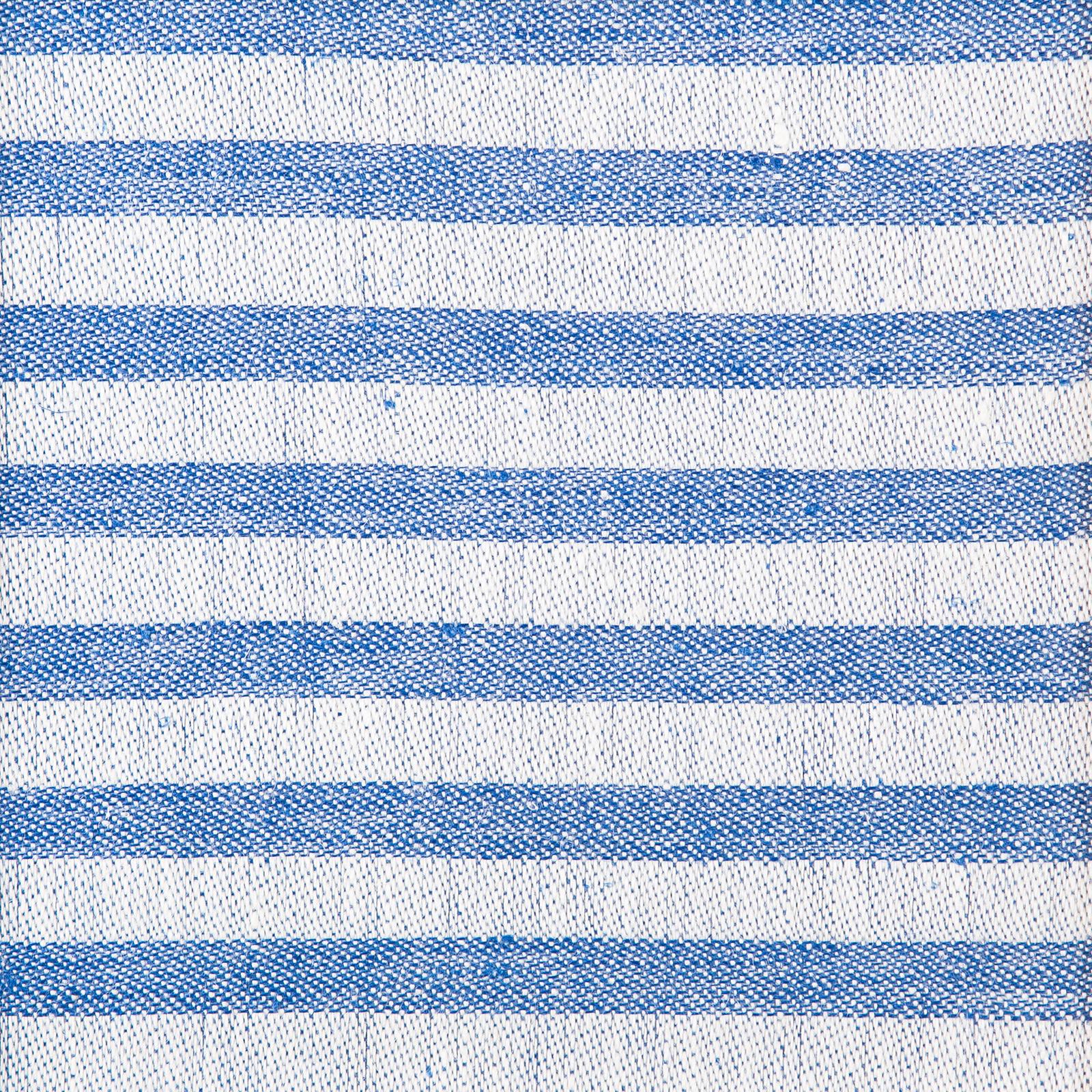 Mönster, handduken Marie färg blå