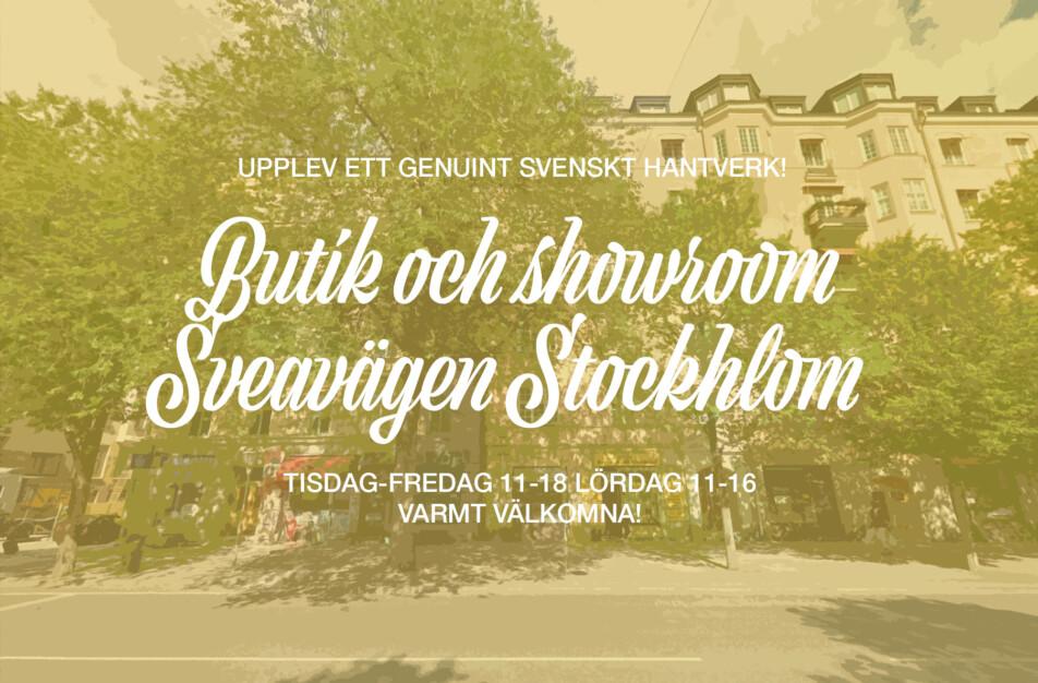 Öppettider Klässbols Linneväveri Sveavägen Stockholm