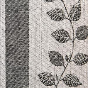 Prunus linne löpare Klässbols Linneväveri Monica Hallen svart