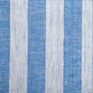 Randig linne handduk Klässbols studio linneväveri mörkblå