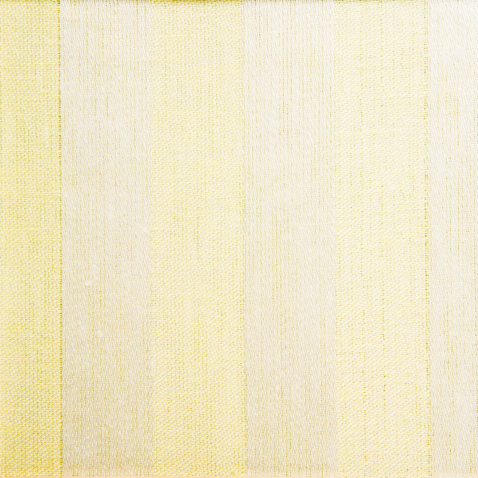 Randig linne handduk Klässbols studio linneväveri gul