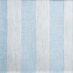 Randig linne handduk Klässbols studio linneväveri ljusblå