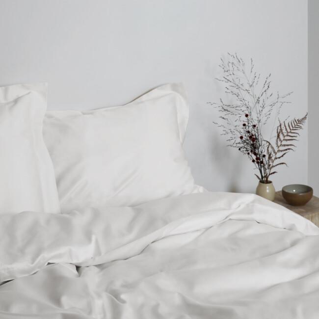 Gastaldi Raso Italienskt sänglinne, Klässbols Linneväveri vit
