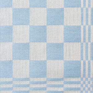 Schackrutan halvlinne hellinne Klässbols Linneväveri ljusblå|Color:ljusbla