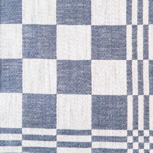 Schackrutan hellinne Klässbols Linneväveri Jeansblå|Color:jeansbla