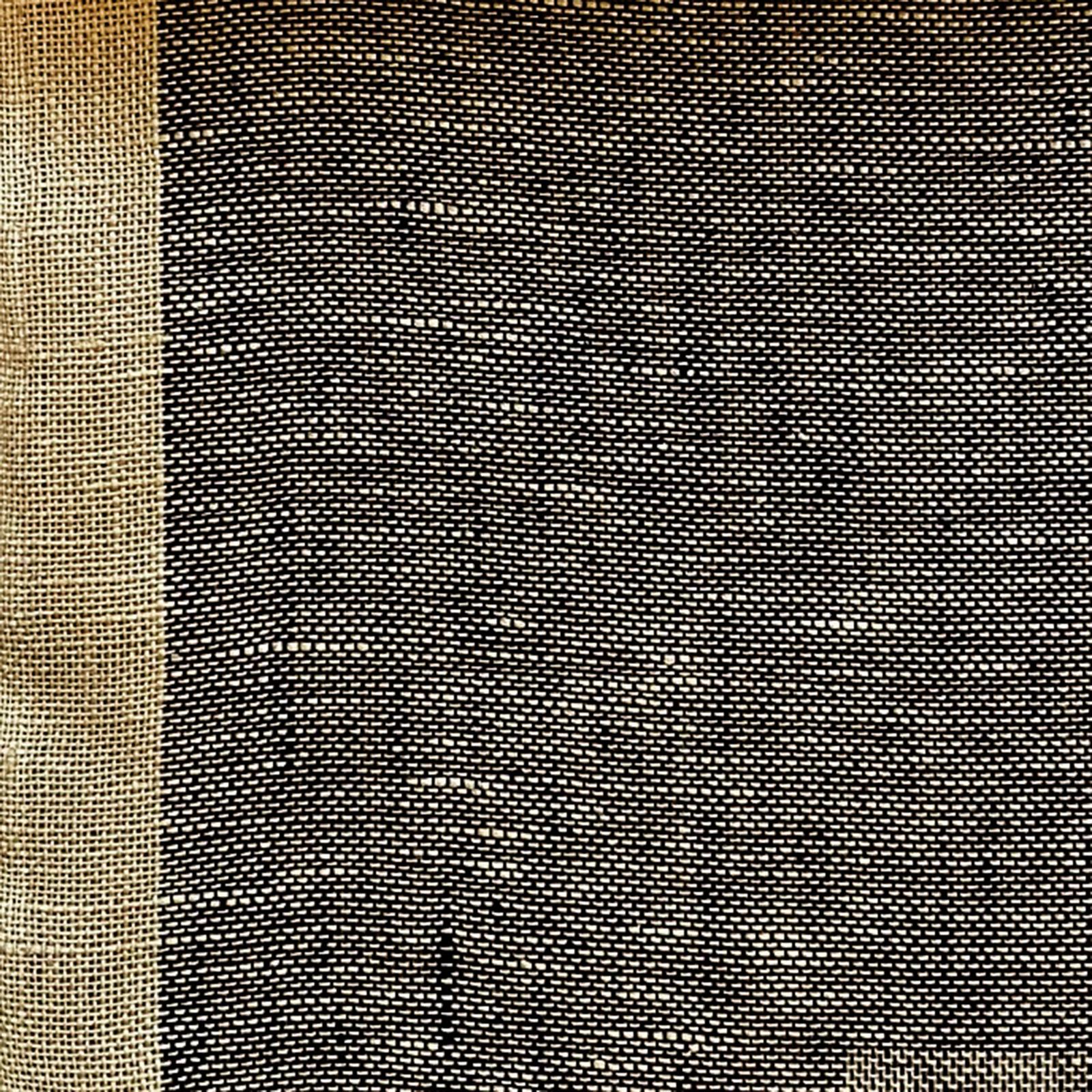 Skymning (skimmer) linnegardin av Eva Jemt Klässbols Linneväveri. Beige