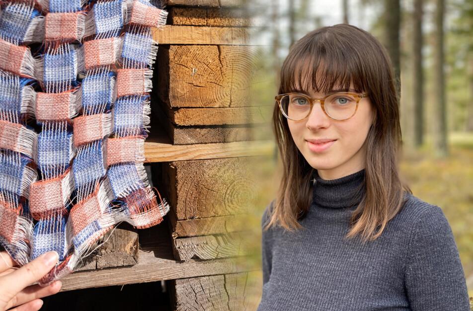 Sophie Jungkvist textildesigner Klässbols porträttfoto Magnus Lersten