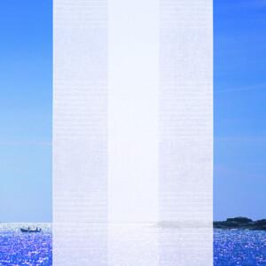 Vertikal gardin av Lena Bergström Klässbols Linneväveri
